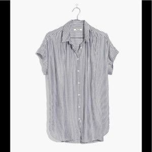 L Madewell Central Shirt in Gabriel Stripe